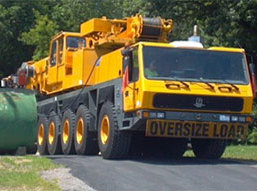 120 ton All Terrain Crane